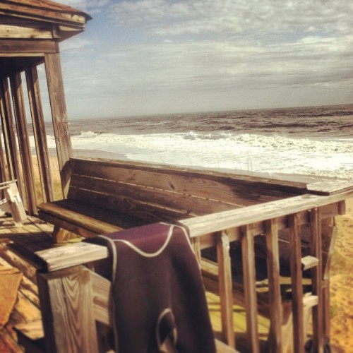Surf break time on the Outer Banks #obx #nc #outerbanks #surfbreak #beachday