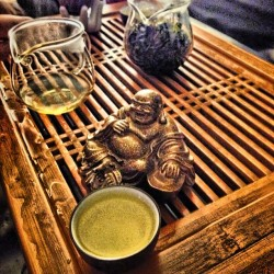 What time is it? It's fucking #tea time. #asian #Buddha