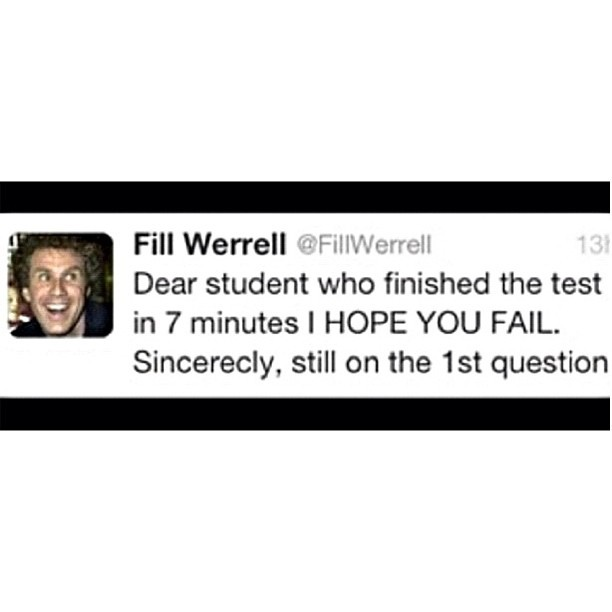 LOL! I will be telling this a lot SOON! #willferrel #funny #lol