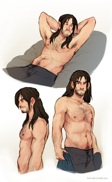 because some people ask for more chubby kili, so i did it with pleasure :3