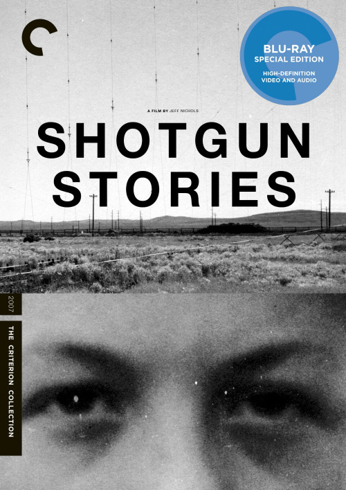 "Criterion Cover for Jeff Nichols ""Shotgun Stories""  MM"