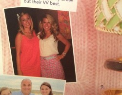 Did yous spot me in the Vineyard Vines catalog?! Have you ever been in the catalog?