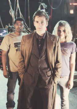 doctor who David Tennant Rose Tyler 10th doctor rose and the doctor iknowthedoctorsname