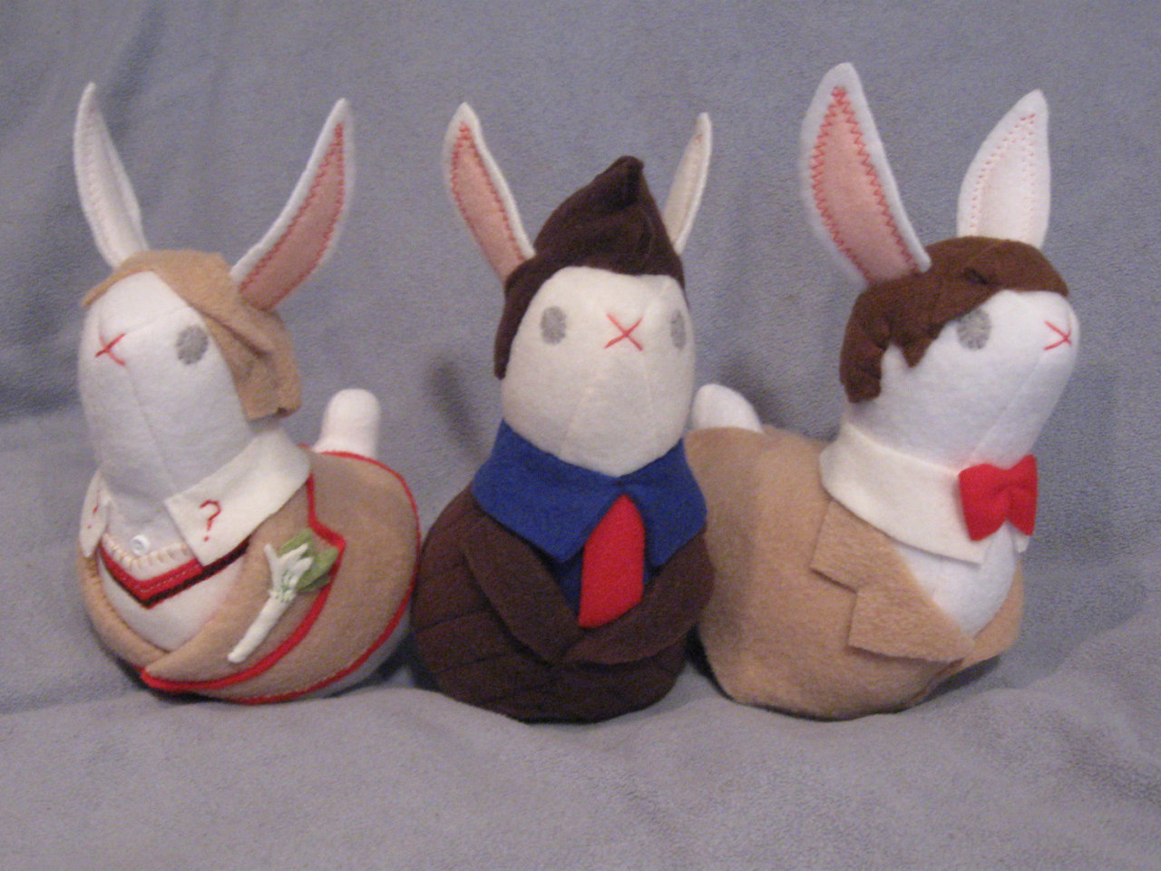 Happy Muesday! Here are some bunnies that look like the Docotor(s)… thats all I got.