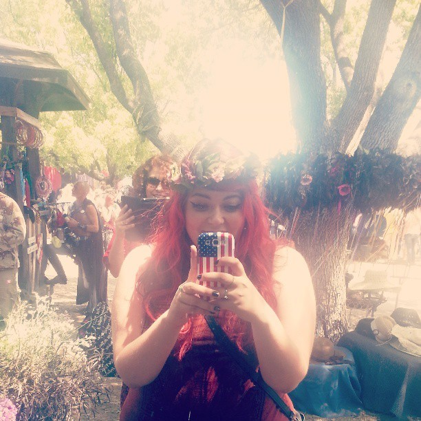 ♡ I am a princess ♡ (at Rennaisance Pleasure Faire)