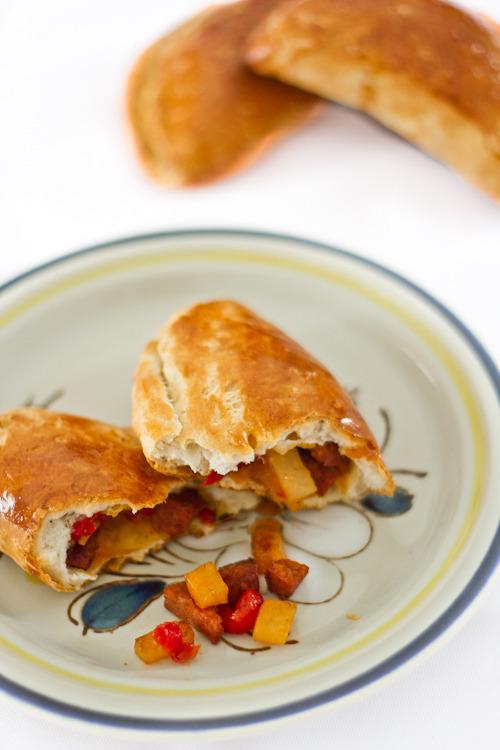 Empanadas with Chorizo, Pepper, and Potato | frites & fries
