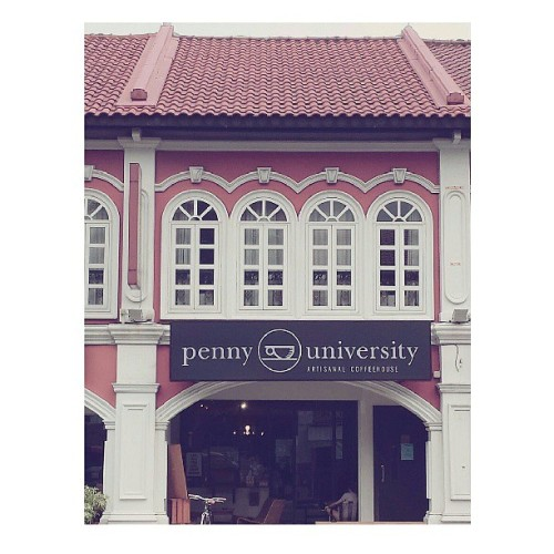 Dating partner of the day @annabelleyoz . #brunch at penny university #girlfriend #igsg #sgcafe #cafe #potd #interior #architecture  (at Penny University)