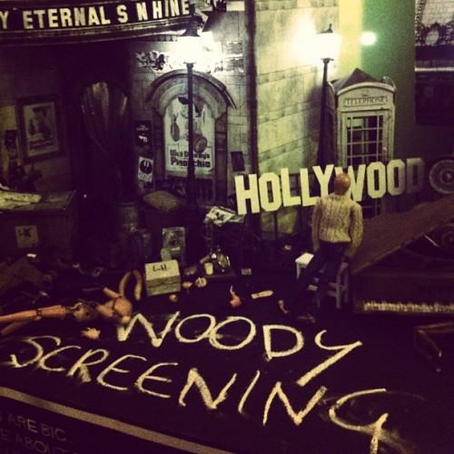 Woody props! (at Ritz Cinema)
