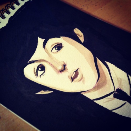 A quick portrait of Paul McCartney I did yesterday night for my little sister ♥ Facebook | Blog