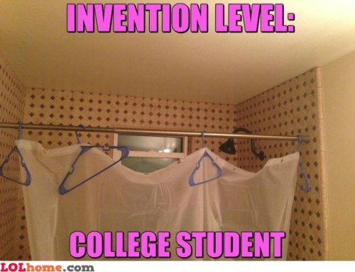 lolfactory:  Hanging curtains- funny tumblr pictures
