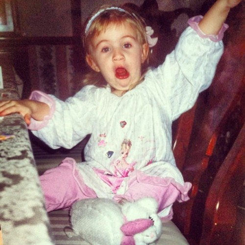 I've always made the weirdest faces #tbt