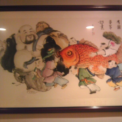 Love this artwork. #koi #art #artwork #personal