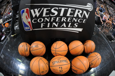 nba:  General view of the arena prior to Game One of the Western Conference Finals between the Memphis Grizzlies and the San Antonio Spurs during the 2013 NBA Playoffs on May 19, 2013 at the AT&T Center in San Antonio, Texas. (Photo by Andrew D. Bernstein/NBAE via Getty Images)
