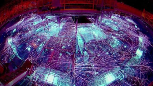 "science-junkie:  NASA's cold fusion tech could put a nuclear reactor in every home, car, and plane.When we think of nuclear power, there are usually just two options: fission and fusion. Fission, which creates huge amounts of heat by splitting larger atoms into smaller atoms, is what currently powers every nuclear reactor on Earth. Fusion is the opposite, creating vast amounts of energy by fusing atoms of hydrogen together, but we're still many years away from large-scale, commercial fusion reactors.A nickel lattice soaking up hydrogen ions in a LENR reactorLENR is absolutely nothing like either fission or fusion. Where fission and fusion are underpinned by strong nuclear force, LENR harnesses power from weak nuclear force — but capturing this energy is difficult. So far, NASA's best effort involves a nickel lattice and hydrogen ions. The hydrogen ions are sucked into the nickel lattice, and then the lattice is oscillated at a very high frequency (between 5 and 30 terahertz). This oscillation excites the nickel's electrons, which are forced into the hydrogen ions (protons), forming slow-moving neutrons. The nickel immediately absorbs these neutrons, making it unstable. To regain its stability, the nickel strips a neutron of its electron so that it becomes a proton — a reaction that turns the nickel into copper and creates a lot of energy in the process.[…]So why don't we have LENR reactors yet? Just like fusion, it is proving hard to build a LENR system that produces more energy than the energy required to begin the reaction. In this case, NASA says that the 5-30THz frequency required to oscillate the nickel lattice is hard to efficiently produce. As we've reported over the last couple of years, though, strong advances are being made in the generation and control of terahertz radiation. Other labs outside of NASA are working on cold fusion and LENR, too: ""Several labs have blown up studying LENR and windows have melted,"" says NASA scientist Dennis Bushnell, proving that ""when the conditions are 'right' prodigious amounts of energy can be produced and released."" Source: extremetech.com"