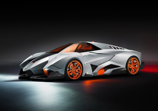 "escapekit:  Lamborghini Egoista Concept To celebrate its 50th anniversary, Italian automobile manufacturer Lamborghini has designed the 'Lamborghini Egoista', it was designed by Walter de Silva, the head designer of the Volkswagen group. ""The cockpit, made completely of carbon fiber and aluminum, represents a sort of survival cell, allowing the driver to isolate and protect themselves from external elements,"" explained de Silva. ""We kept an eye on the future when designing the Egoista, with the idea that its cockpit could have been taken from a jet aircraft and integrated into a road vehicle, to provide a different travel option."""