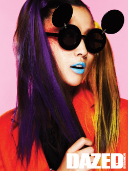surrealdiamonds:  DAZED & CONFUSED FEB '11  MAKE-UP BY WON JO-YEON.