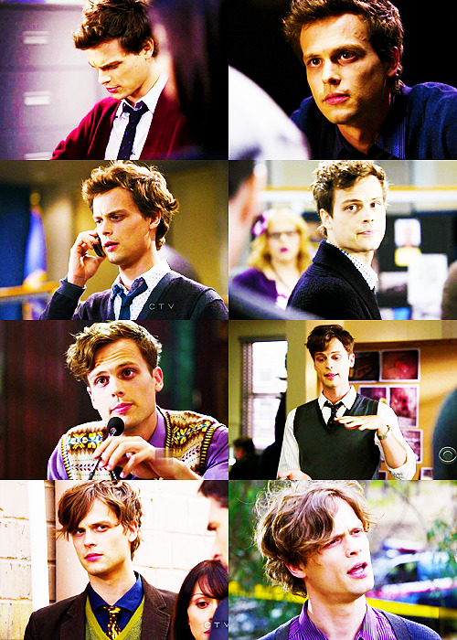 Spencer Reid ft. Short Hair