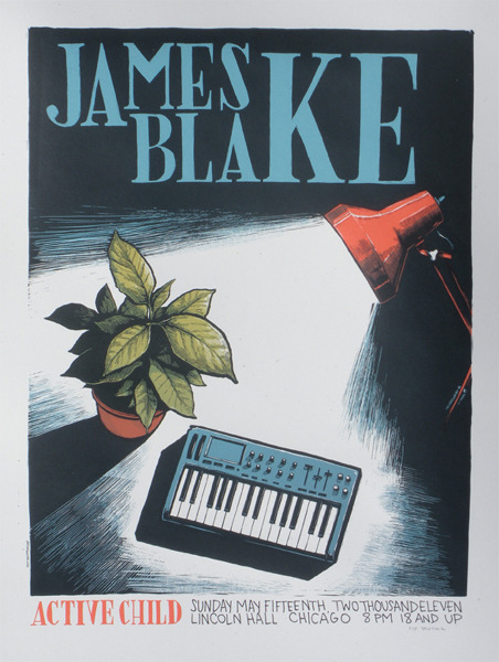sunsetdistrict:  James Blake w/ Active Child
