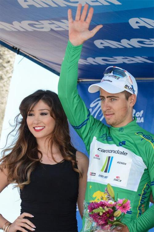 2013 Amgen Tour of California | Back in green.