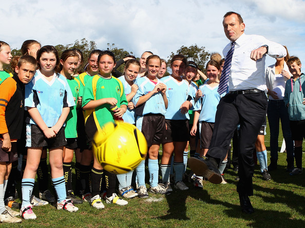 "abbottoirblues:  The children could only look on as Mr. Abbott kicked their ball away and screamed ""FUN'S CANCELLED"""