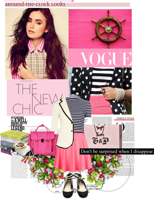 Lily Collins by hello-barbie featuring shopping tote bags