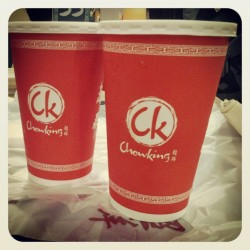 Here @ chowking waiting for my order ^__^v (at Chowking)
