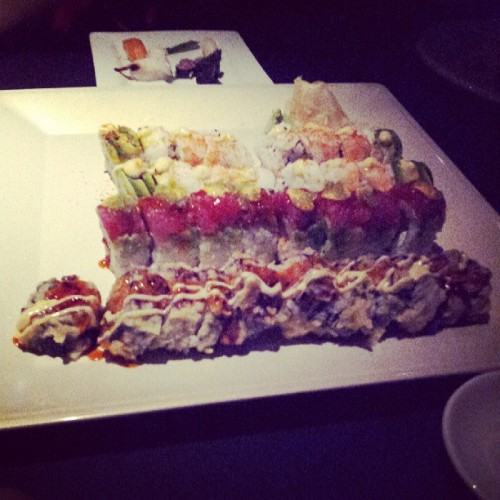 Sushi with the family for Duy's pregraduation celebration! #yummy #sushi #delicious #family @tuannieee @duymai90 @randompham @ynbui