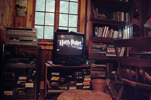 weheartit harry potter cozy