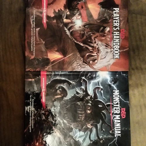 Awwwww yeah. Picked up the two major books for 5th edition.