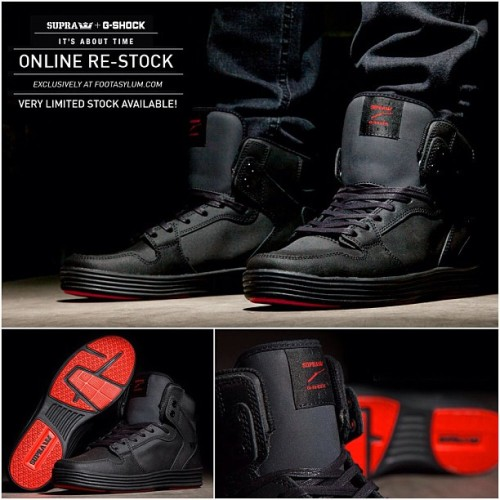 If you missed out on the Supra G Shock Vaider Lite, you're in luck! We've just had a Re-Stock! There's very limited stock available, so hurry! Exclusively @ www.footasylum.com! #footasylum #showusyoursneaks #supragshocklite #supra #gshock #lite #supragshock #itsabouttime #sneakers #restock #exclusive #sneaks #trainers #kicks #kotd #kicksoftheday #shoegame #igsneakercommunity #wearyourkicks #sneakers #freshkicks   (at Product code: 076886)