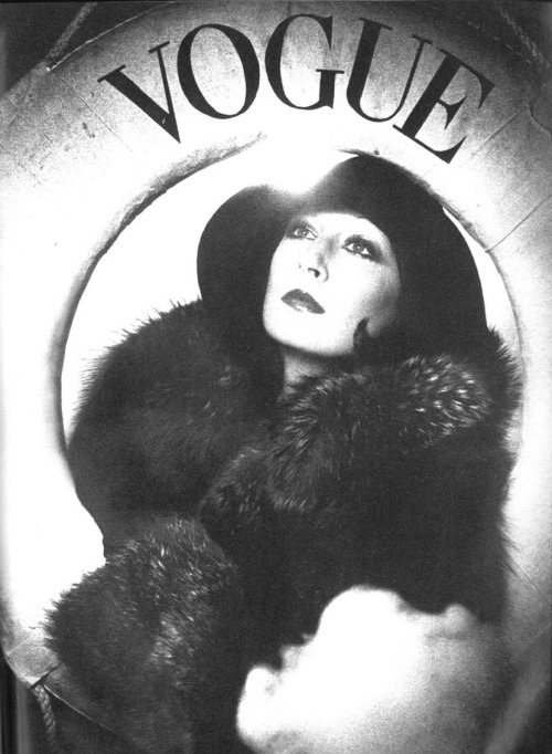 bohemea:  Anjelica Huston - Vogue UK by David Bailey, October 1st 1973