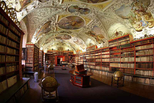 Prague Library by steenoski on Flickr.