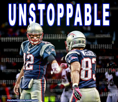 Tom Brady and Wes Welker = Unstoppable!