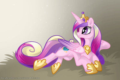 mypantsrcool:  Cadance by *KeyFeathers