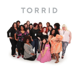 Group photo from the Torrid blogger preview event in Los Angeles. Check out my personal pics from the shoot here: http://curvesandchaos.com/2013/04/my-i-am-torrid-photo-shoot.html