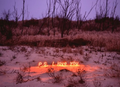 "If you love in the desert, will anyone love you back?  wgsn:  Jung Lee's ""PS I LOVE YOU""  one of the highlights from Hong Kong art week. For more check out i-D online's great article"