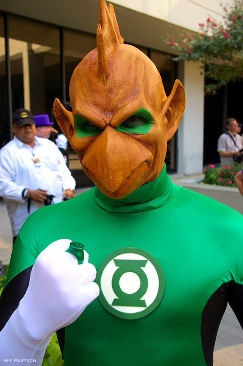COSPLAY: Tomar Re / DC Comic's Green Lantern series