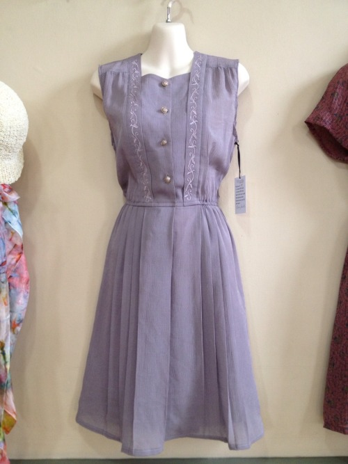Lilac and pleats