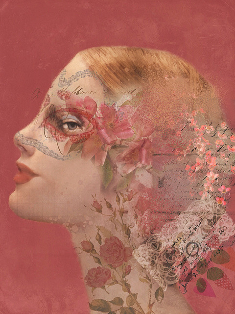 "pink-lemonade-rose:  ""Rose"" by Sarah Jarrett"