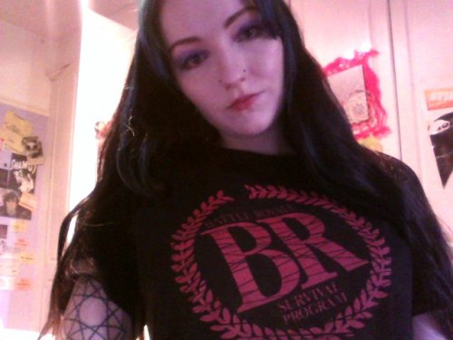 Yay! My new Battle Royale tshirt arrived in the post today. I love it.