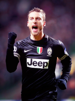 I LOVE THE MAN, TOO MUCH FOR WORDS! The great Claudio Marchisio! Well done boy, well done! Finally getting the attention needed.