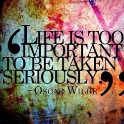 Amen!☺ #life #oscarwilde #quote #instaquote #love #laugh #motivation #inspo #inspiration #letgo #breathe