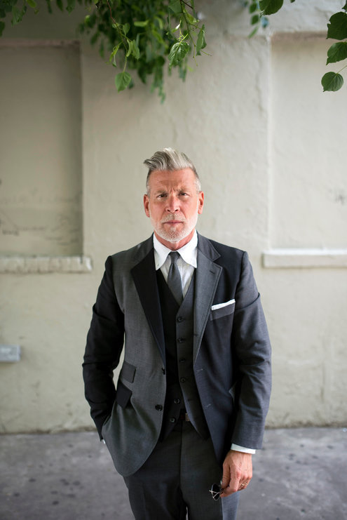 Nick Wooster. Source: nytimes.com - Nick Wooster, One-Man Brand