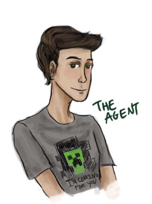 evil-sherlock-holmes:  Drew myself my new adopted Time Lord babbu look at him he's gonna eat all your stuff