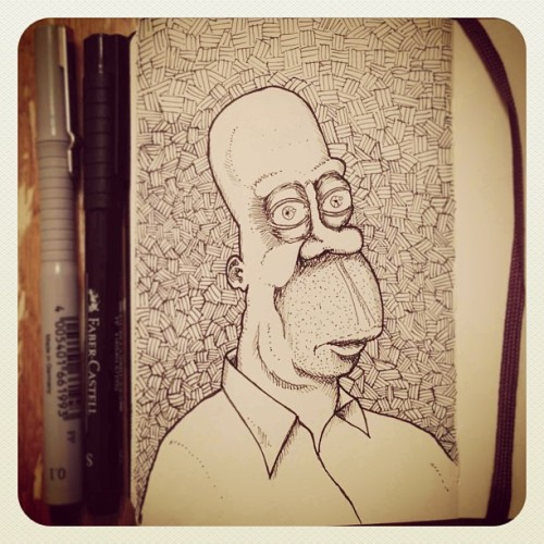 Homer Simpson #dailysketch