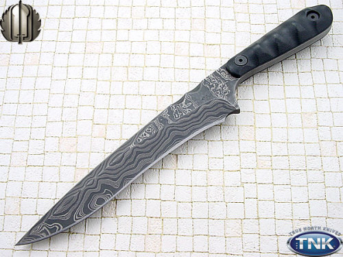 knifepics:  Mick Strider Damascus