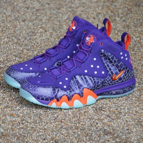 "kicksla:  A few pairs of the @Nike Barkley Posite Max ""Suns"" available at our Larchmont Village @Kicksla location! Hurry down #nike #barkleyposite #kicksla #kickssoleprovider (at Kicks Sole Provider)"