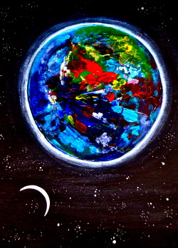 "tymurf:  ""Planet Color"" Print:$25"