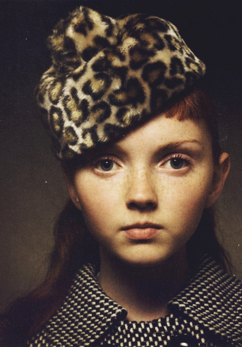 Lily Cole/I-D Magazine January 2004