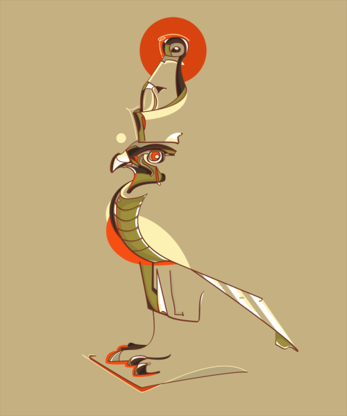 dwellerinthelibrary:  Horus by ~cigarro-DA